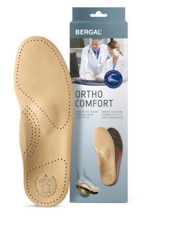 Bergal Ortho Comfort Orthopädische Einlagen aus Leder (42 Herren)
