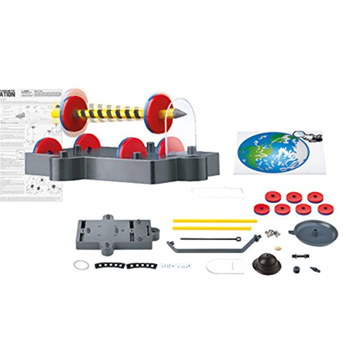 419r1BeVxaL - 4M KidzLabs Anti Gravity Magnetic Levitation Science Kit - MagLev Physics STEM Toys Educational Gift for Kids & Teens, Girls & Boys