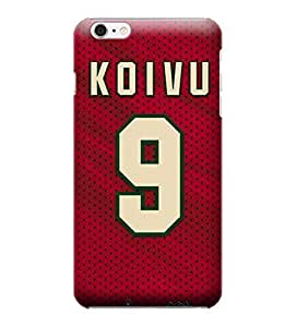 iPhone 5 5s Cases, NHL - Minnesota Wild #9 Mikko Koivu - iPhone 5 5s Cases - High Quality PC Case