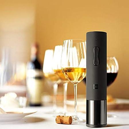 Ba30DEllylelly Sacacorchos de vino eléctrico, abridor de vino para el hogar, abridor automático de botellas de vino, engranaje de alta precisión, par fuerte