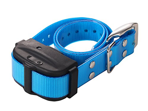 Pet Resolve Extra Dog Training Collar for the Shock and Vibration System (DT- V) with the Blue Border.