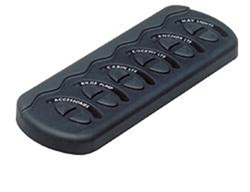 - BEP Contour Generation II Spray Proof Switch Panel 6W No Fuse MC10