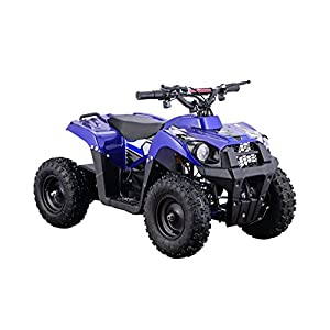 XtremepowerUS Electric Monster ATV 36V 500W w/ 3 Adjustable Speed, Blue