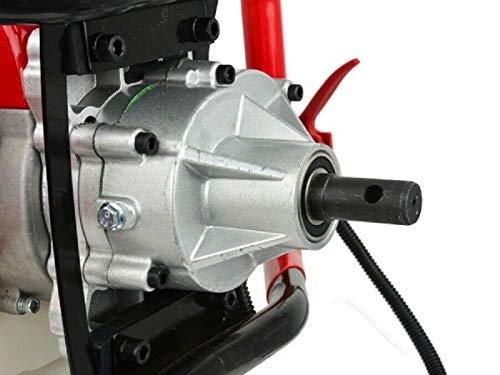 25CM Bohrer H/&D Benzin Erdbohrer H00655 1,5 kW Erdbohrger/ät Pfahlbohrer Eisbohrer
