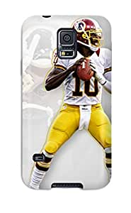 First-class Case Cover For Galaxy S5 Dual Protection Cover Robert Griffin Iii