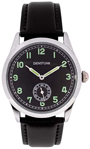 Regalia Company Replica WW2 German Army Service Watch (Black) (Best German Watches Under 500)