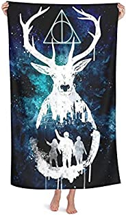 Beach Towel Ha-Rry Po-Tter Lightweight Quick Dry Camping Towels | Gym Yoga Swimming Sunbed Throw Pool Towel 32