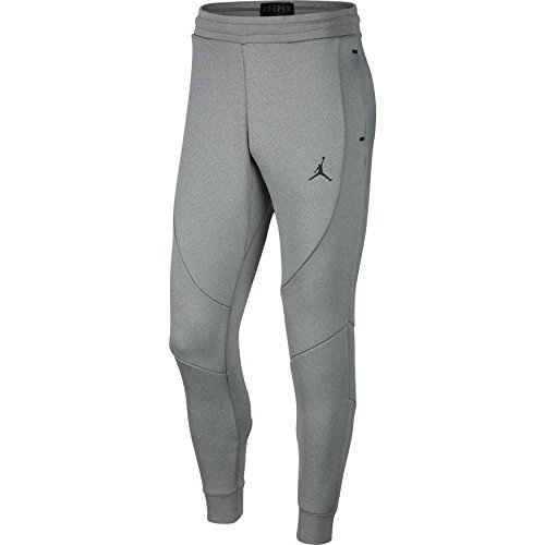 Jordan Flight Tech Fleece Pants Mens (Carbon Heather/Black, X-Large) by NIKE