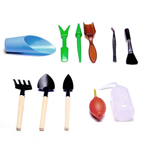 Supla-11pcs-Succulent-Transplanting-Miniature-Fairy-Garden-Planting-Gardening-Hand-Tools-Set