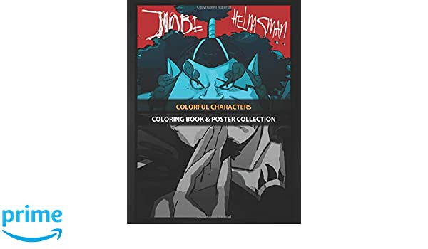 Coloring Book & Poster Collection: Colorful Characters Jinbe ...