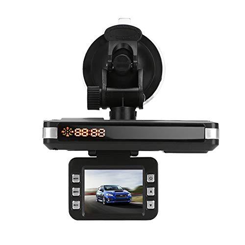 MINBB Car DVR Rocorder Car Camera Radar Car Speed Laser 720P 2 in 1 2.0 Inch LCD Display Speed Control Detector Traffic Alert Drive Safely