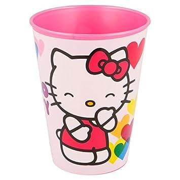 Hello Kitty Vaso plastico pequeño 260 ML (STOR 82207): Amazon.es: Juguetes y juegos