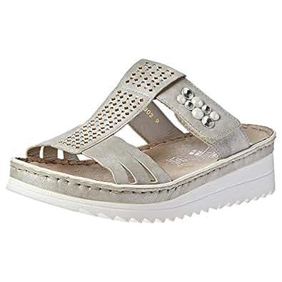 Rieker Comfort Sandal for Women - Grey