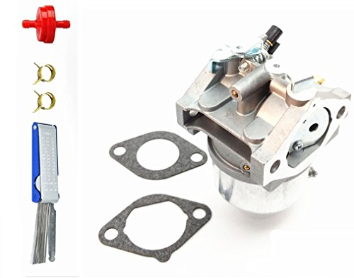 Qauick AM123578 Carburetor Carb Replacement with Gasket Kits for John Deere 2150 285 320 18HP Lawn Tractor Mower with Kawasaki FD590V Engine Replace Modles # AM123578 15003-2620 ()
