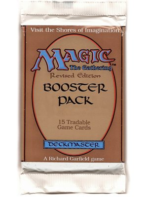 Magic Gathering 3rd Edition (Magic The Gathering Card Game - Base Revised 3rd Edition Booster Pack - 15C)