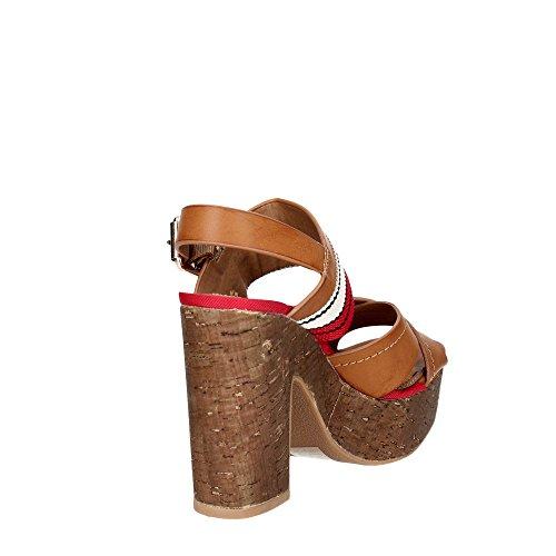 Wrangler WL171670 Sandalo Donna Sintetico BROWN BROWN 40