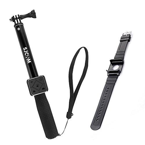 Star Remote (SJCAM Accessories Remote Selfie Stick + Remote Wrist Watch Brand for M20 SJ6 legend SJ6 Air SJ7 Star action camera)