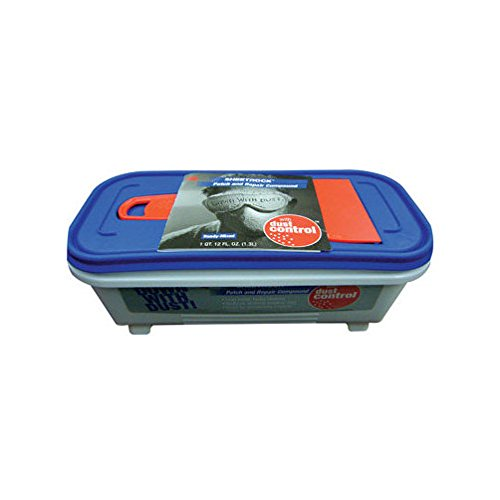 (U S GYPSUM 380138 Usg Patch and Repair Dust Control Compound with Knife Tub 12 Oz)