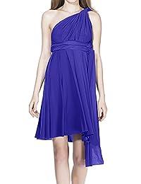 Women Transformer Wrap Short Convertible High Elasticity Homecoming Dresses