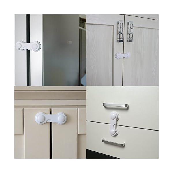 10 Pack Cupboard Child Locks Canwn Child Drawer Safety Locks