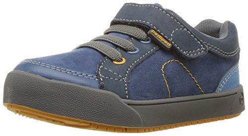 pediped Baby Flex Dani School Uniform Shoe, Navy 10, 25 E EU Toddler (8.5 US)