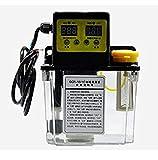 TOPCHANCES 1.8L Capacity Automatic Electric Digital Display CNC Lubricating Oil Pump HR Pump TM Lubricator Electromagnetic Oil Pump Lathe Gear Pump Oiler CNC Pump 220V