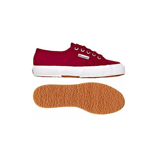 Superga 2750 LINU S001W30 - Zapatillas de tela para mujer Scarlet
