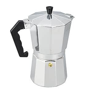 Cafetera italiana de espresso - incluye una junta de repuesto y ...