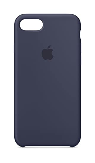 more photos 1b4d5 9aa35 Apple Silicone Case (for iPhone 8 / iPhone 7) - Midnight Blue