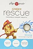 Product review for Ginger People Ginger Rescue Strong Chewable Tablets, 24 Count