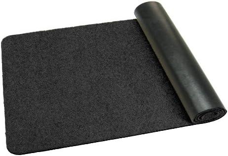 schwarz Schmutzfangmatte 110 cm Durchmesser rund in 9 Gr/ö/ßen und 11 Farben Deko-Matten-Shop Fu/ßmatte Classic