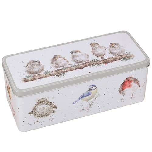 Wrendale Designs - The Country Kitchen Collection - Cracker Tin Birds Design (TN017)