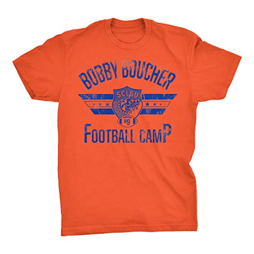Bobby Boucher Football Camp - Mud Dogs Water Boy Funny Vintage Movie T-Shirt - ()