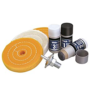 Metal Buffing Polishing Kit For Drill [4 Inch Wheel]