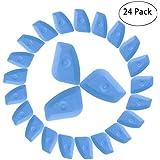 CARCAREZ Auto Home Window Tint Squeegee Scraper Vinyl Applicator for Wraps & Decals & Window Film Install - 24 PCS