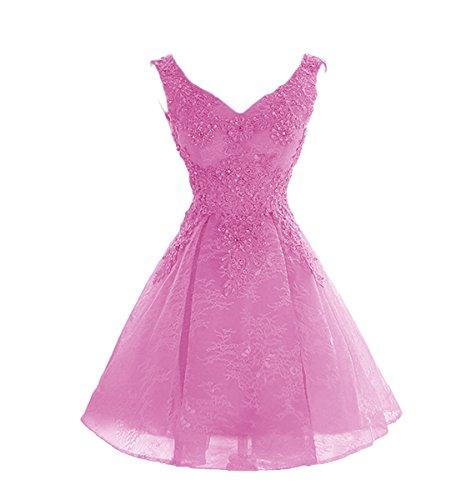hot pink dress shorts - 7