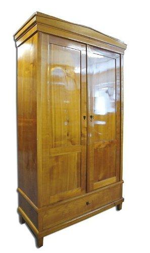 Biedermeier Kleiderschrank Zweite Zeit Um 1900 Kirschbaum Amazon De
