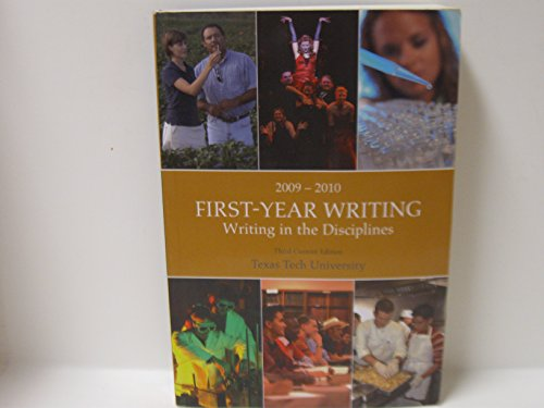 First-Year Writing: Writing in the Disciplines