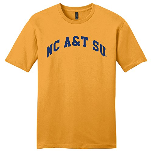 Campus Merchandise NCAA North Carolina A&T Aggies Arch Soft Style T-Shirt, XX-Large, ()
