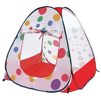 Babrit Play Tent Colorful Unisex Ideal Birthday Gift Pool House Baby Beach Tent
