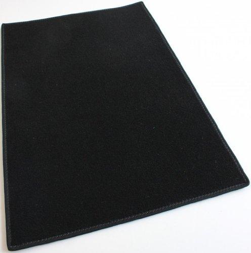 Koeckritz Rugs Black Carpet Area Rug 3 x5 Indoor Outdoor Durably Soft