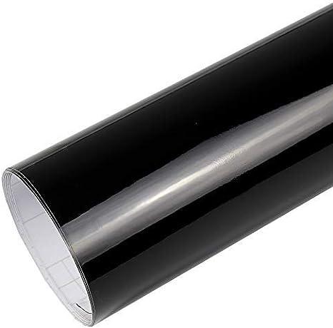 Rapid Teck 7 M Premium Glanz Schwarz 2m X 1 52m Auto Folie Blasenfrei Mit Luftkanälen Für Auto Folierung Und 3d Bekleben In Matt Glanz Und Carbon Autofolie Küche Haushalt