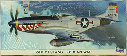 hasegawa-172-f-51d-mustang-korean-war-plastic-aircraft-model-kit-00661