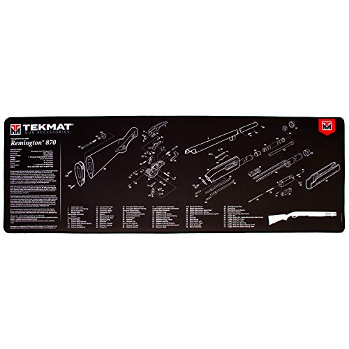 TekMat Ultra Gun Mat for use with Remington 870
