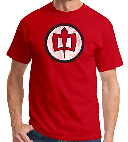 The Greatest American Hero TV Show Series Logo Red T-Shirt, XL ()