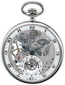 [エポス] メンズ レディース 懐中時計 ポケットウォッチ 手巻き POCKET WATCH スケルトン Skeleton 2121 銀 白 シルバー ホワイト