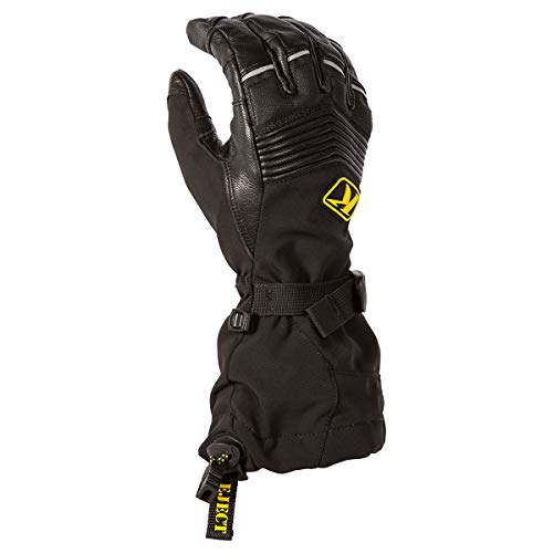 KLIM Summit Glove XL Black - Leather Snowmobile Gloves