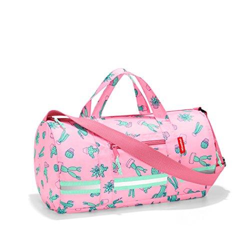 reisenthel mini maxi dufflebag S kids, Small Foldable Overnight Bag, Cactus (Cute Duffel Bags)