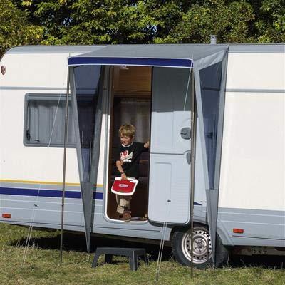 Berger Vordach Eingangs-Schutzdach für Caravans und Reisemobile, beidseitiger Schutz, 150 x 90 cm