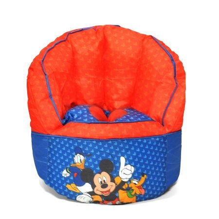 Mickey Mouse Kids Bean Bag Chair  sc 1 st  Amazon.com & Amazon.com: Mickey Mouse Kids Bean Bag Chair: Kitchen u0026 Dining